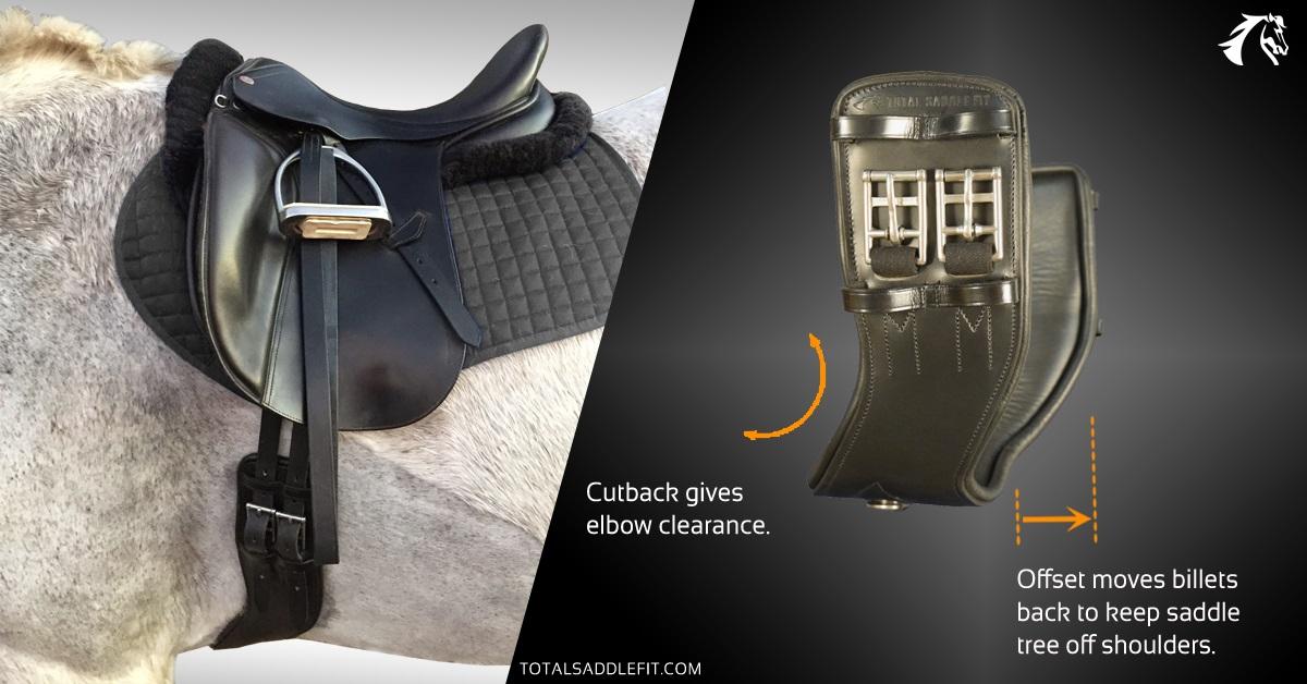 Total Saddle Fit Shoulder Relief Girth