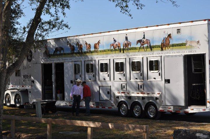 Rita Crundwell horse trailer
