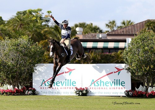 Boyd Martin and Trading Aces Unbeatable in $50K Wellington Eventing Showcase