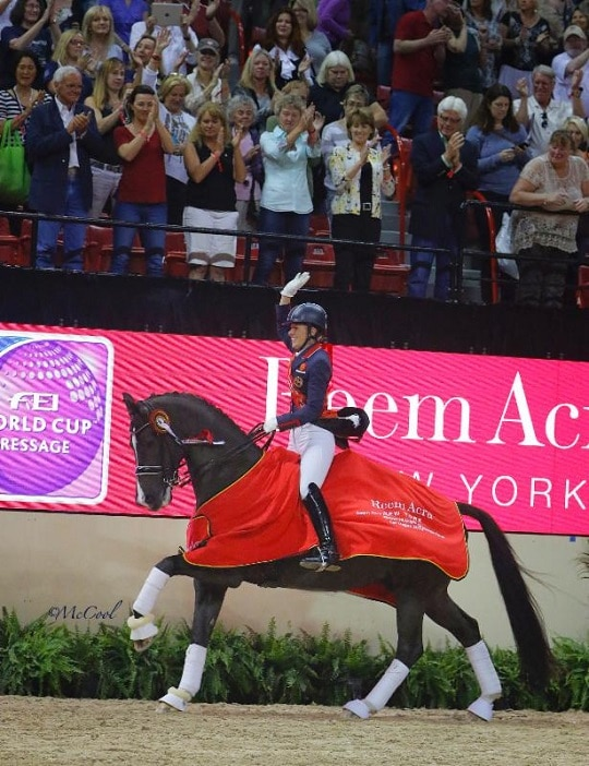 Charlotte Dujardin and Valegro Make it a Double Win