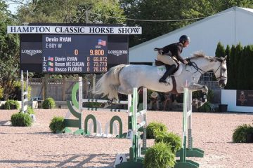 USEF Temporarily Suspends NJ Jumper Trainer Devin Ryan