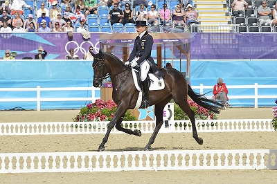 Ingrid Klimke Clinches Dressage Lead on Day One in Eventing