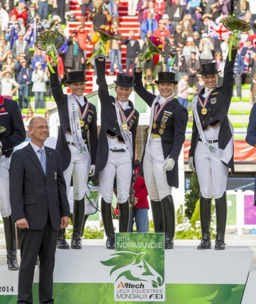 Germans Untouchable for Dressage Gold