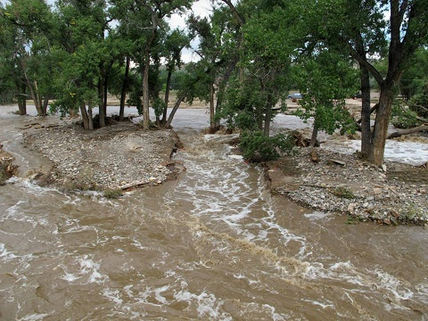 Colorado Flooding Impacts AQHA Breeder's Wild Basin Ranch