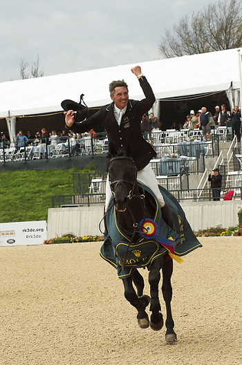 Nicholson Wins His First Rolex Kentucky Three-Day Event