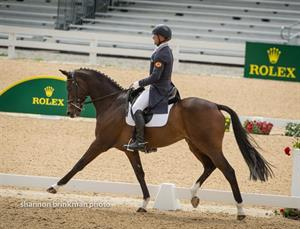 Pollard Leads Day One at the Rolex Kentucky Three-Day Event presented by Land Rover