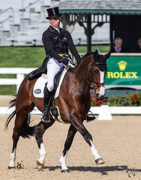 A Tie Leads into X-C Day at Rolex Kentucky Three-Day