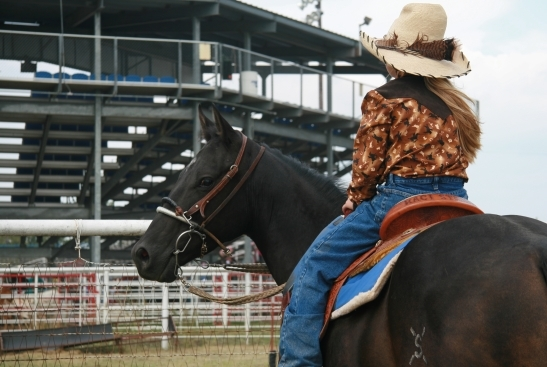 Cowgirl Tuff with Western Wishes