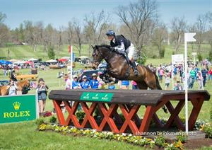 Fox-Pitt Leads after Cross County at Rolex Kentucky Three Day Event