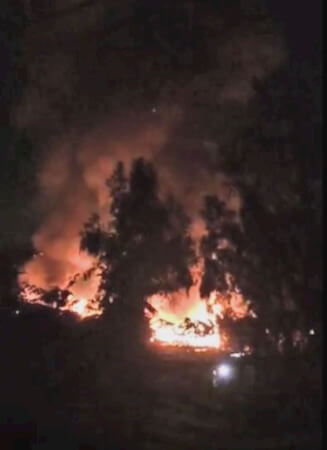Fire Strikes Horse Stable
