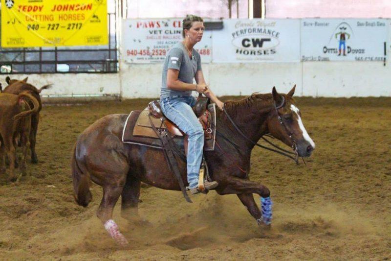Cutting Horses Dakota Harrell Texas
