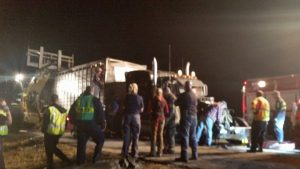 10 horses killed in Tennessee accident