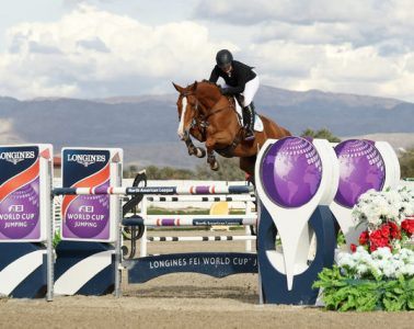 Ashlee Bond and Chela LS marked their official comeback to jump the only double clear in the $100K Longines FEI World Cup™ Jumping Thermal.