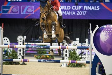 McLain Ward and HH Azur Deliver Five Flawless Rounds to Capture Longines FEI World Cup™ Jumping Final Title