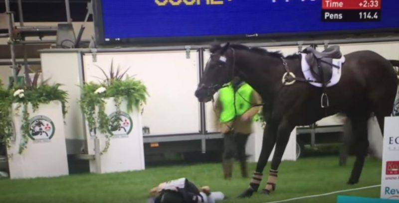 Elisa Wallace and Simply Priceless Yellow Card for Abuse of the Horse