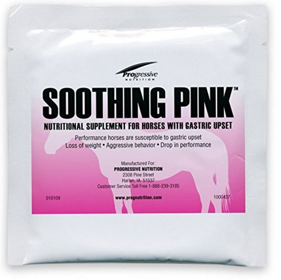 Soothing Pink nutritional supplement for horses with gastric upset contained ractopamine, Cargill states.