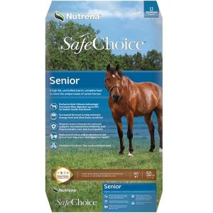 Lab results detected two ionophores in a bag of Nutrena horse feed after two horses died last month. The horses' SafeChoice Senior horse feed tested positive for monensin and showed trace amounts of lasalocid.