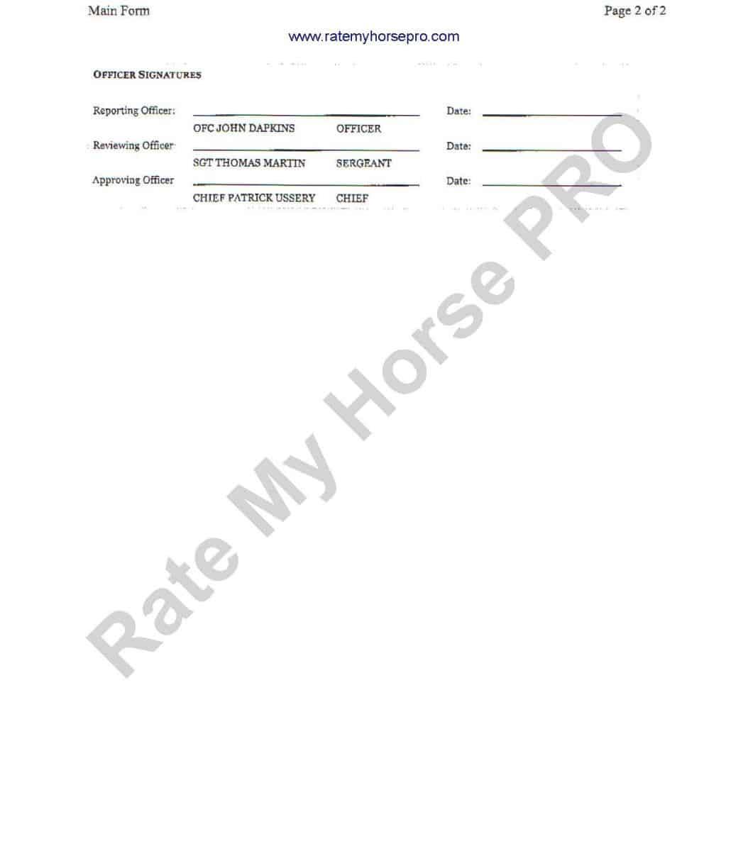Amber Hill Farm_Elizabeth Mandarino admits responsibility for Humble's death at Devon Horse Show__2012