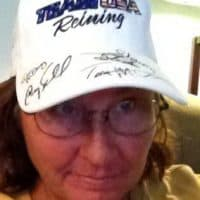 Winner of WEG reining signed hat giveaway McCutcheon