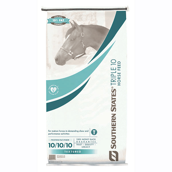 Southern States Triple 10 Horse Feed is part of the Cargill Recall