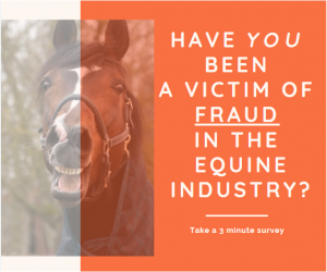 Horse Fraud Survey